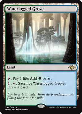 Waterlogged Grove - Magic Singles » Modern Horizons - Fusion