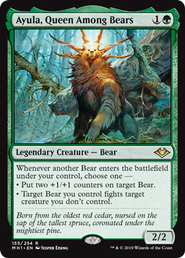 Ayula, Queen Among Bears - Foil