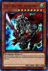 Gilford the Lightning - SBAD-EN008 - Ultra Rare - 1st Edition on Channel Fireball