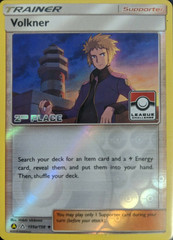 Volkner - 135a/156 - Reverse Holo - 2nd Place League Promo