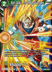 Son Goku, in Close Quarters - EX06-15 - EX