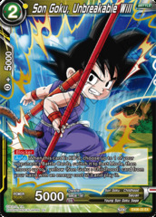 Son Goku, Unbreakable Will - EX06-23 - EX
