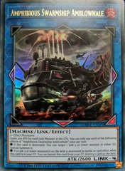 Amphibious Swarmship Amblowhale - DANE-ENSP1 - Ultra Rare - Limited Edition on Channel Fireball