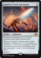 Sword of Truth and Justice - Foil