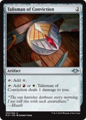 Talisman of Conviction - Foil (MH1)