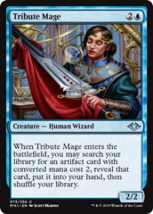 Tribute Mage - Foil