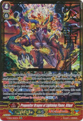 Progenitor Dragon of Lightning Flame, Gilgal - V-SS01/002EN - SGR