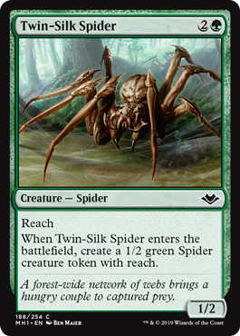 Twin-Silk Spider