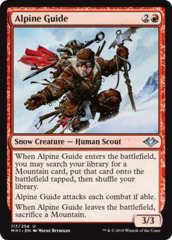 Alpine Guide - Foil (MH1)