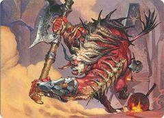 Spinehorn Minotaur (Art Series)