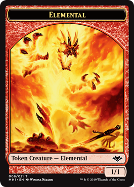 Elemental Token (008) - Foil
