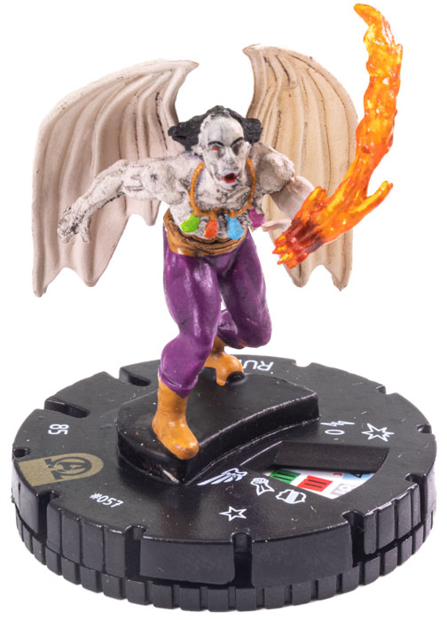 Rune - 057 - HeroClix Singles » Marvel Avengers Black Panther and