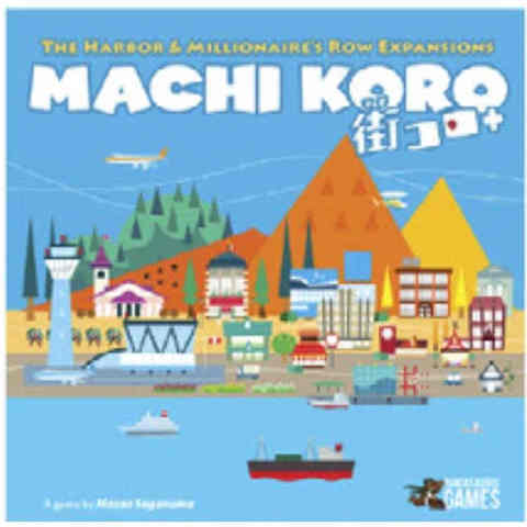 Machi Koro - 5th Anniversary Harbor and Millionnaires Row Expansions
