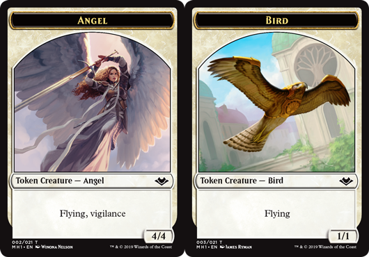 Angel Token // Bird Token