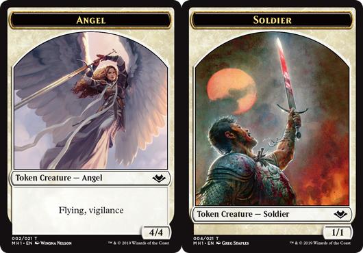 Angel Token // Soldier Token