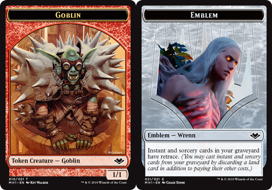 Goblin Token // Emblem - Wrenn and Six Token