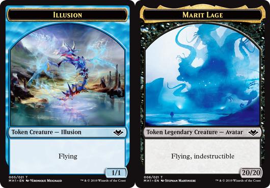 Illusion Token // Marit Lage Token - Magic the Gathering