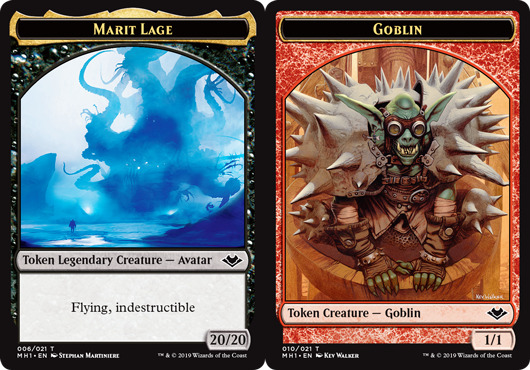 Marit Lage Token // Goblin Token