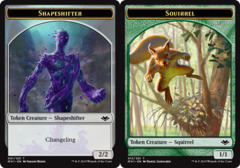 Shapeshifter Token // Squirrel Token