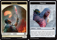 Soldier Token // Emblem - Wrenn and Six Token