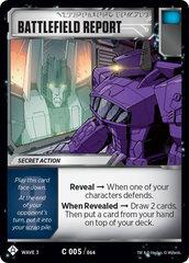 Battlefield Report