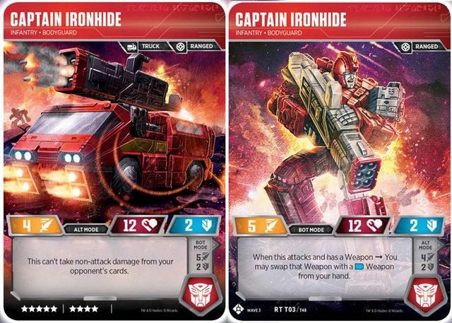 Captain Ironhide // Infantry Bodyguard