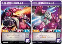 Sergeant Sparkstalker // Black Ops Cryptology