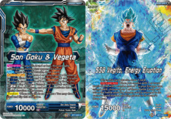 Son Goku & Vegeta // SSB Vegito, Energy Eruption - BT7-025 - C