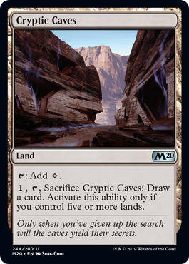 Cryptic Caves - Foil