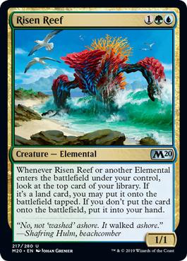 Risen Reef - Foil