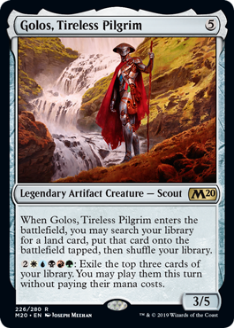 Golos, Tireless Pilgrim - Foil