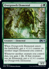 Overgrowth Elemental - Foil