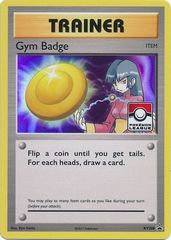 Gym Badge (Sabrina) - XY208 - 2017 Pokemon League Exclusive