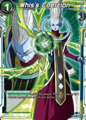 Whis's Coercion - BT1-055 - C - Special Anniversary Box - Foil