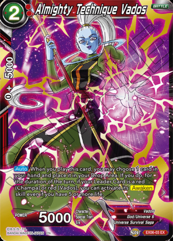 Almighty Technique Vados - EX06-03 - EX - Foil