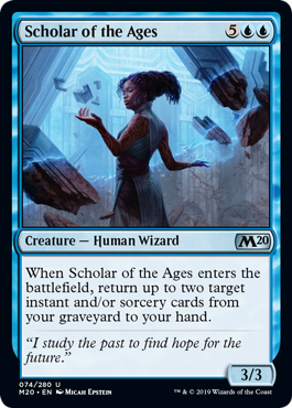 Scholar of the Ages - Foil