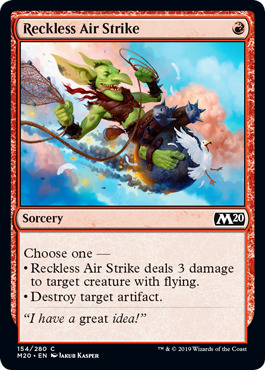 Reckless Air Strike - Foil