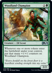 Woodland Champion - Foil