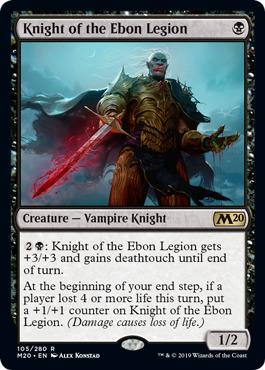 Knight of the Ebon Legion - Foil