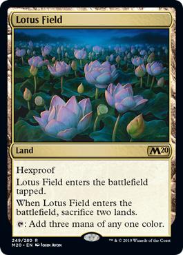 Lotus Field - Foil
