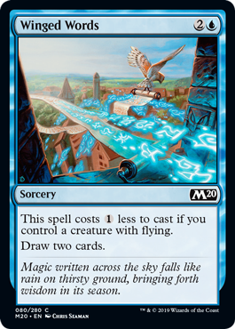 Winged Words - Foil