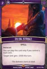 Dusk Strike