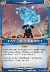 Fizzy, the Water Spirit