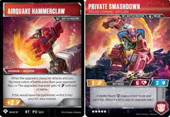 Private Smashdown - Ground Command - Artillery // Airquake Hammerclaw