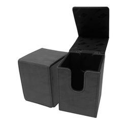 Ultra Pro - Alcove Flip Box - Suede Collection: Jet