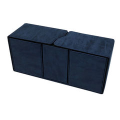 Ultra Pro - Alcove Vault Flip Box Suede Collection: Sapphire (85897)