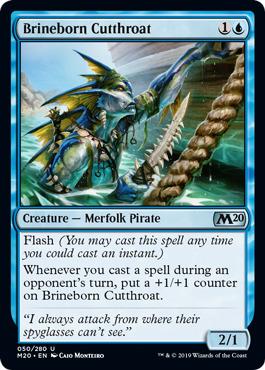 Brineborn Cutthroat - Foil