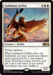 Goldmane Griffin - Planeswalker Deck Exclusive