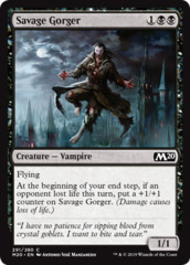 Savage Gorger - Planeswalker Deck Exclusive