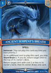 Ancient Serpent's Breath on Channel Fireball